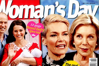 Woman's Day: fall in love with ageing