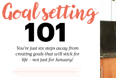 Weight Watchers: Goal setting at New Years